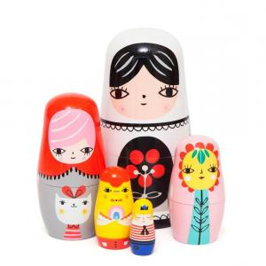 Nesting Dolls - Fleur and Friends