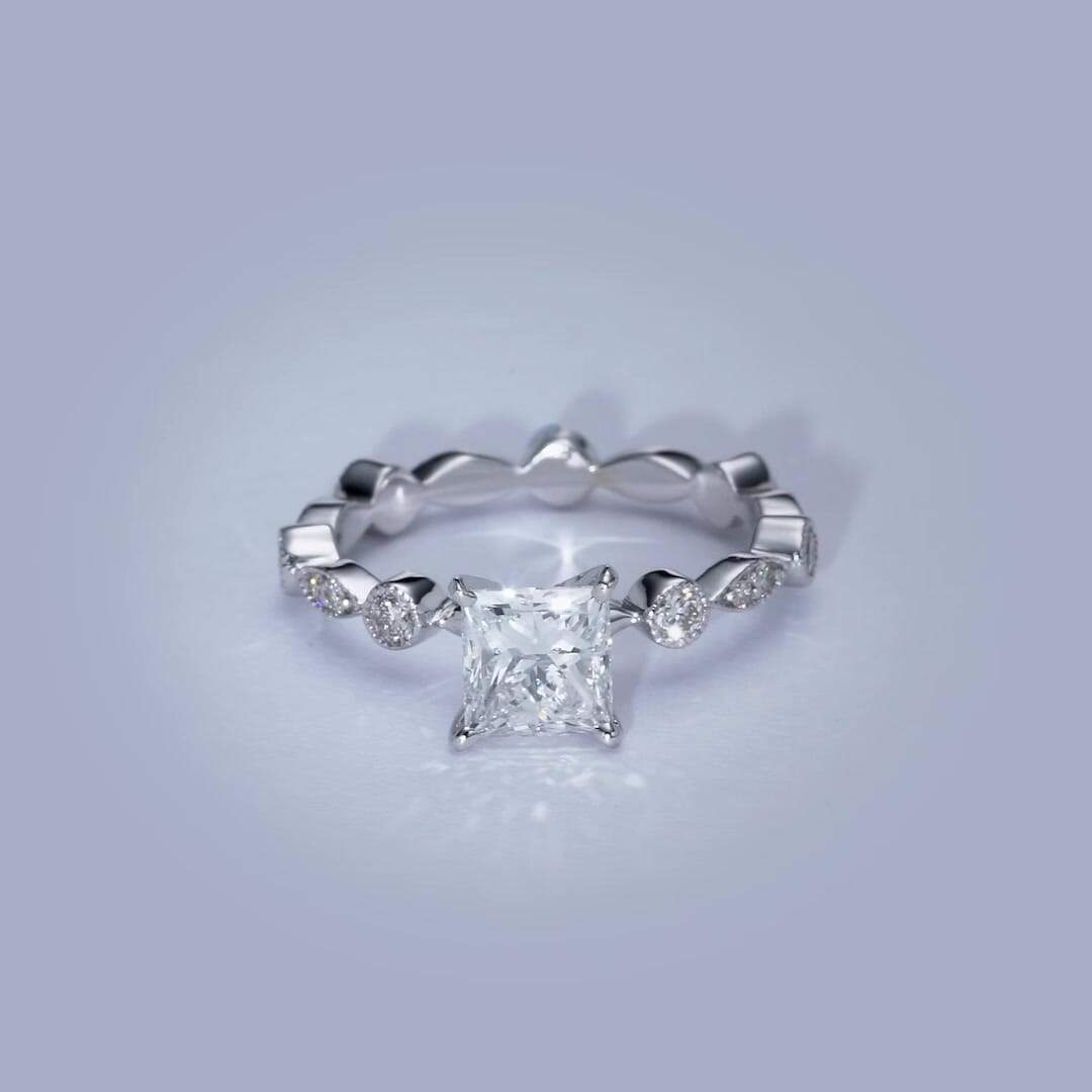 The Amelia Engagement Ring