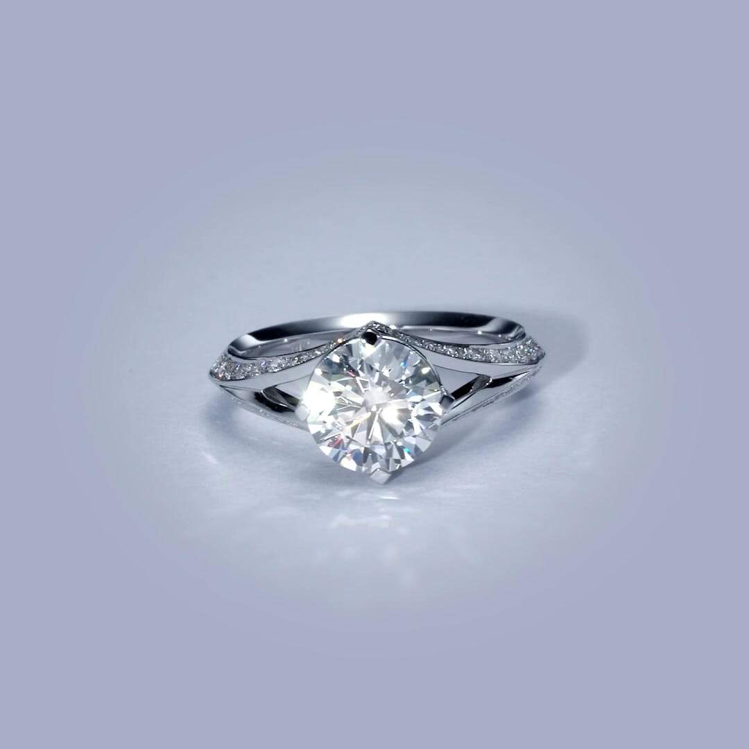 The Harlow Engagement Ring