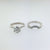 2.5 CARAT F VS2 ROUND BRILLIANT CUT DIAMONDS SET IN PLATINUM MATCHING BRIDAL SET #J99932
