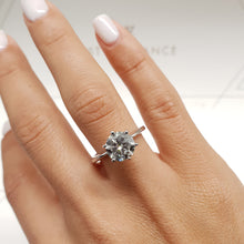 Load image into Gallery viewer, The Samantha Engagement Ring  - 2 CARAT E VVS2 - 6 PRONGS DIAMOND RING #J99941