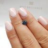 1.01 Carat Round Fancy Deep Blue I1 Certified Loose Diamond
