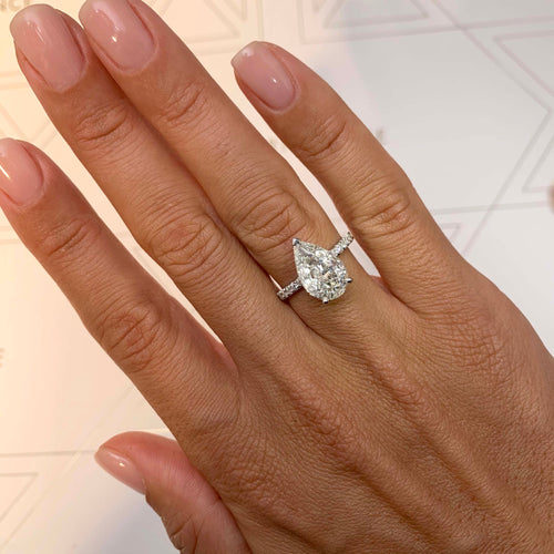 The Jenny Engagement Ring (5.5 Carat)