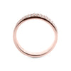 0.2 Carat Diamond Wedding Band - 14K Rose Gold Channel Setting #717W_RDR