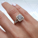 1.78 Carat Round Brilliant F SI2 - 14K Yellow Gold Diamond Engagement Ring #J99233