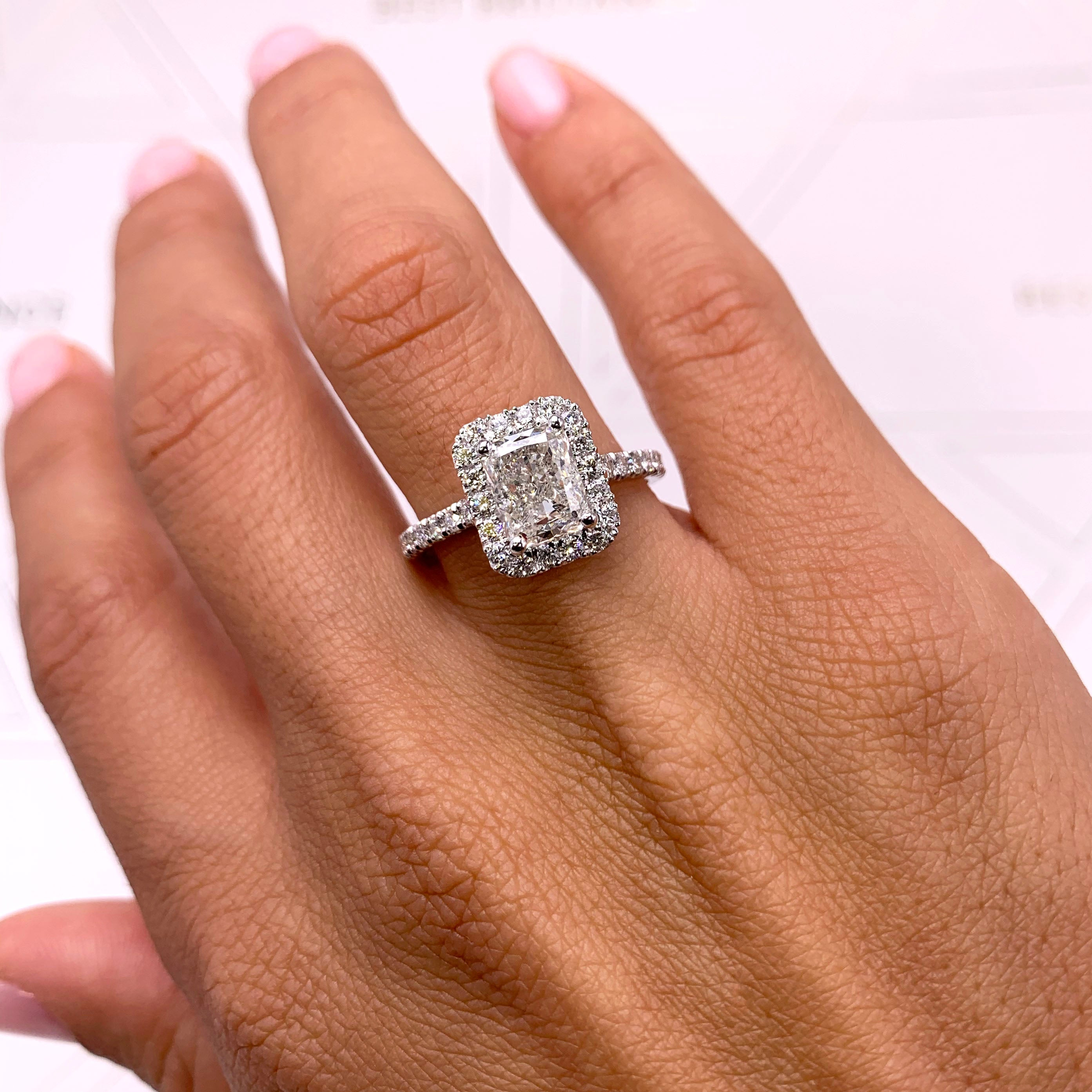 The Andrea Engagement Ring (2.25 Carat)