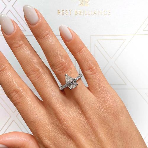The Hailey Engagement Ring (2.25 Carat)