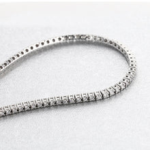 Load image into Gallery viewer, 2.5 CARAT D-E VS NATURAL DIAMONDS CLASSIC TENNIS BRACELET - WHITE YELLOW OR ROSE GOLD #J99987 - Best Brilliance