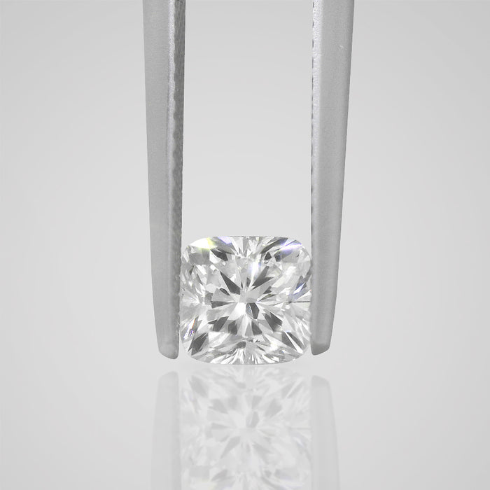 1.05 Carat Cushion D VS2 Natural Certified Loose Diamond - Best Brilliance
