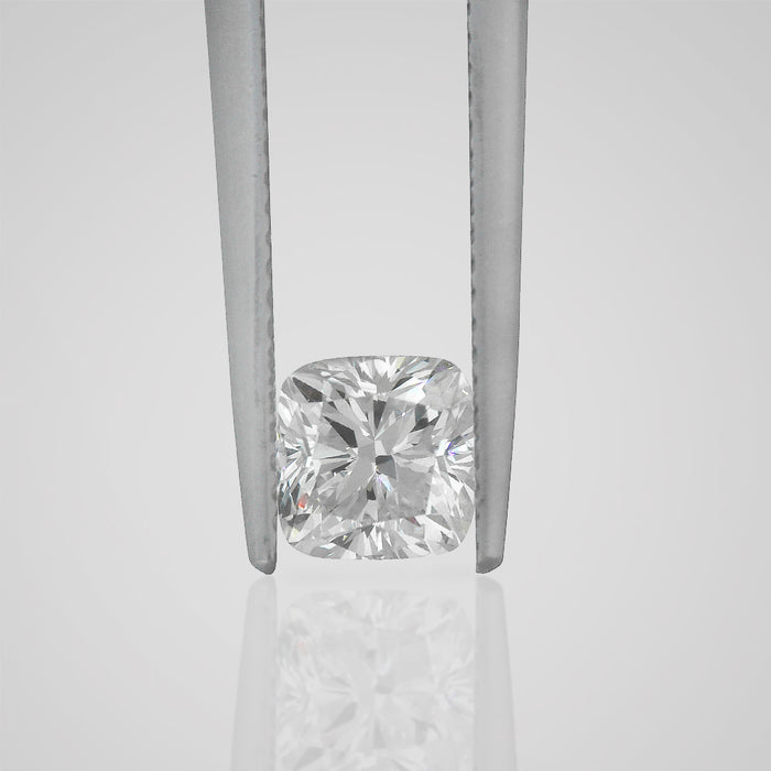 1.03 Carat Cushion D VS1 Natural Certified Loose Diamond - Best Brilliance