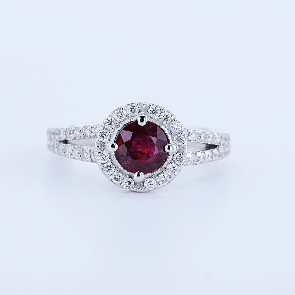 rings red stone ruby july ring engagement eragem birthstone