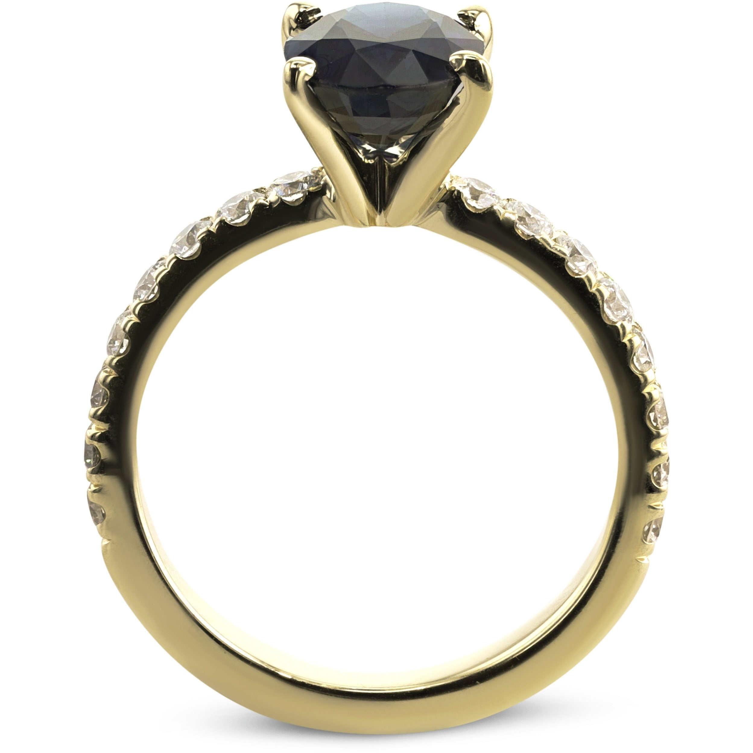 ring oval engagement keefe david diamond the shaped jewellers