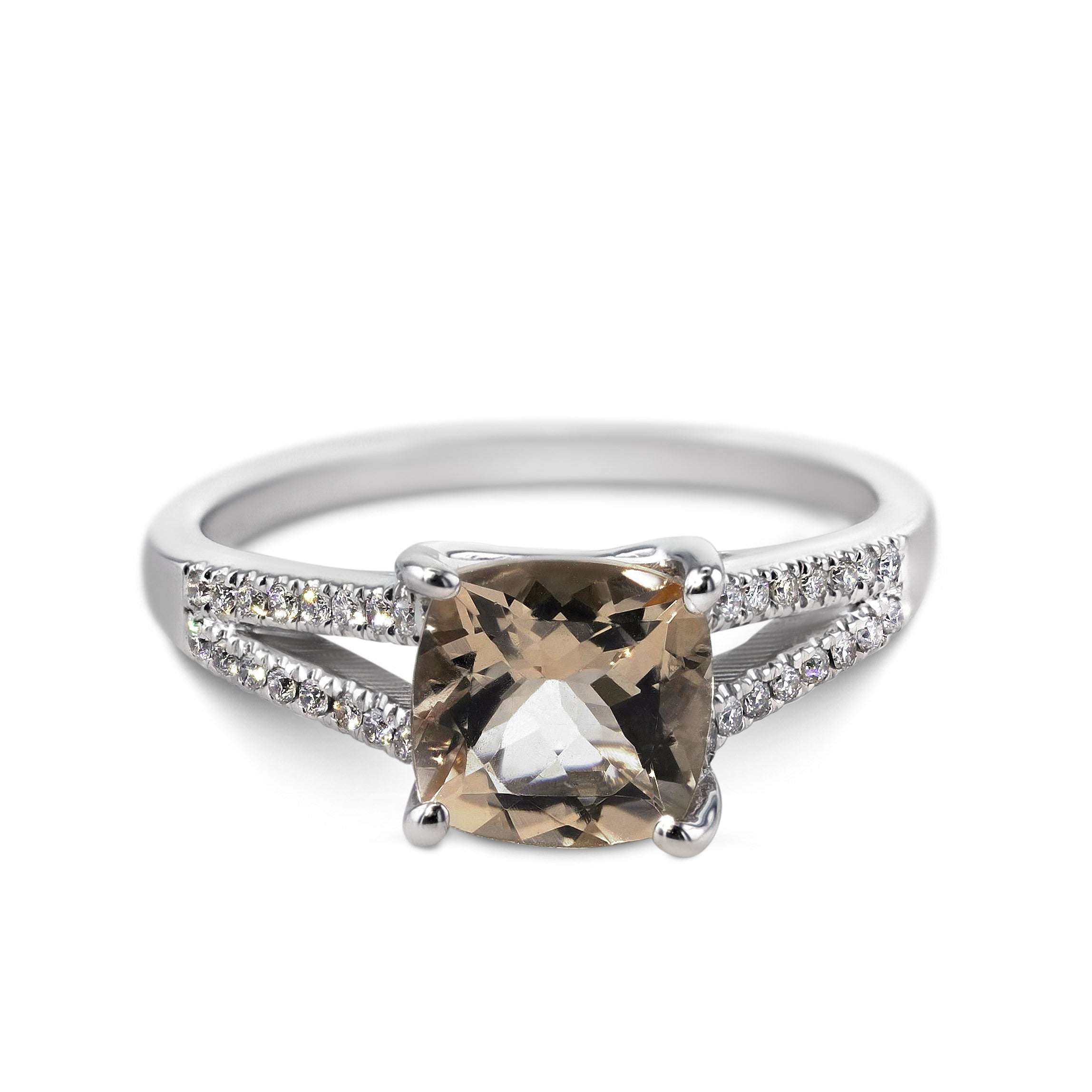 rings buenaventura ring products diamond elizabeth engagement hammered liz harmony champagne