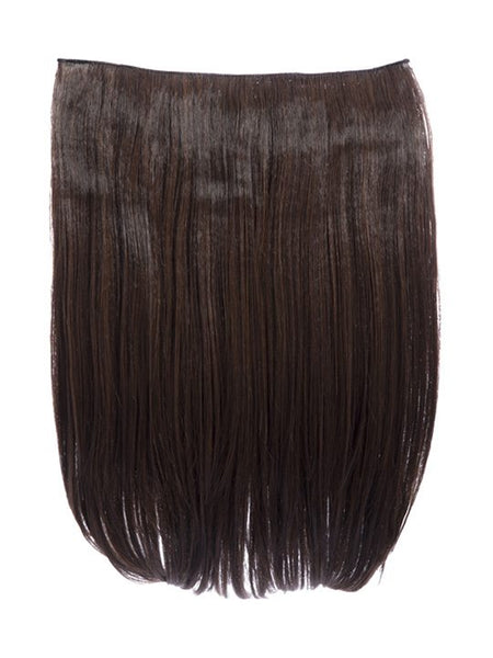 Dolce 1 Weft 18″ Straight Hair Extensions In Warm Brunette - Pretty Rebel