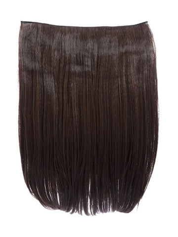 Dolce 1 Weft 18″ Straight Hair Extensions In Warm Brunette, Prettyrebel.com