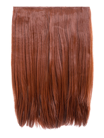 Dolce 1 Weft 18″ Straight Hair Extensions In Copper Red