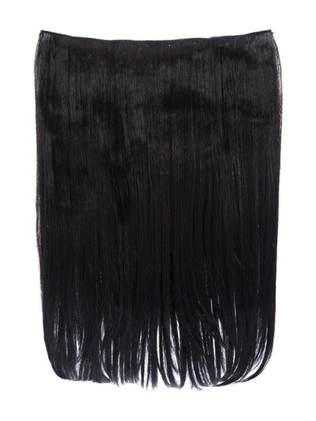 Dolce 1 Weft 18″ Straight Hair Extensions In Dark Brown