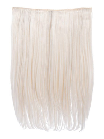 Dolce 1 Weft 18″ Straight Hair Extensions In Bleach Blonde, Prettyrebel.com