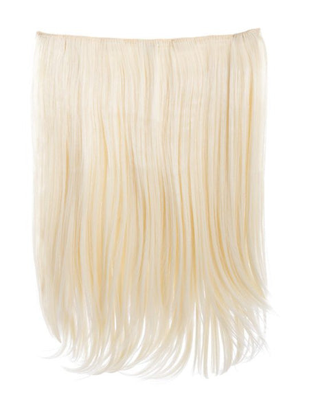 Dolce 1 Weft 18″ Straight Hair Extensions In Pure Blonde - Pretty Rebel