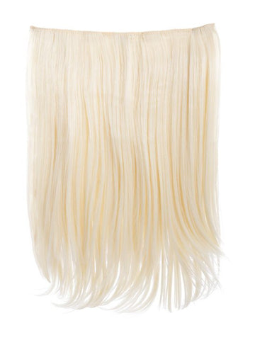 Dolce 1 Weft 18″ Straight Hair Extensions In Pure Blonde