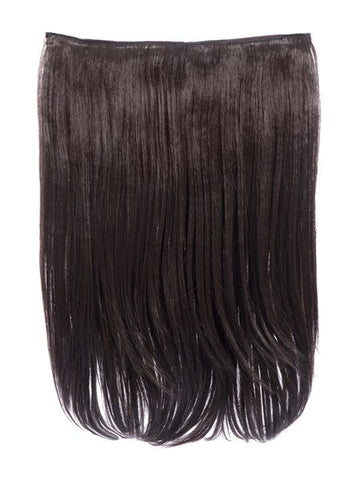 "Dolce 1 Weft 18"" Straight Hair Extensions In Chocolate Brown"