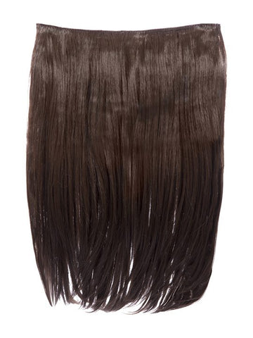 Dolce 1 Weft 18″ Straight Hair Extensions In Chestnut Brown, Prettyrebel.com