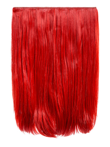 Dolce 1 Weft 18″ Straight Hair Extensions In Red - Pretty Rebel