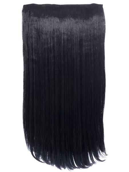 Envy 3 Weft Straight 22″-24″ Hair Extensions in Natural Black