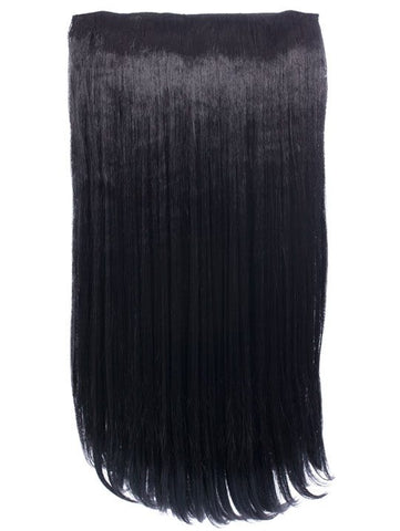 Envy 3 Weft Straight 22″-24″ Hair Extensions in Natural Black - Pretty Rebel