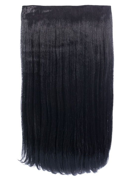 Envy 3 Weft Straight 22″-24″ Hair Extensions in Jet Black
