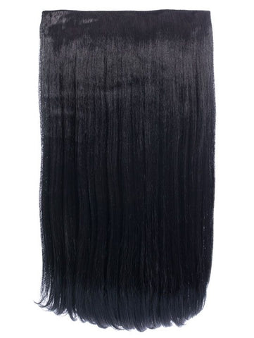 Envy 3 Weft Straight 22″-24″ Hair Extensions in Jet Black, Prettyrebel.com