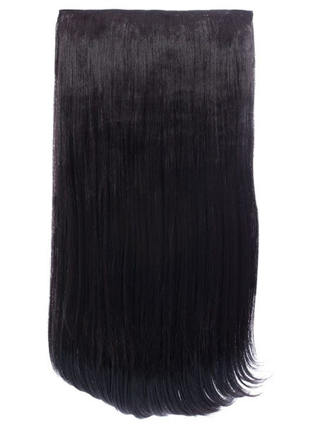 Envy 3 Weft Straight 22″-24″ Hair Extensions in Raven, Prettyrebel.com