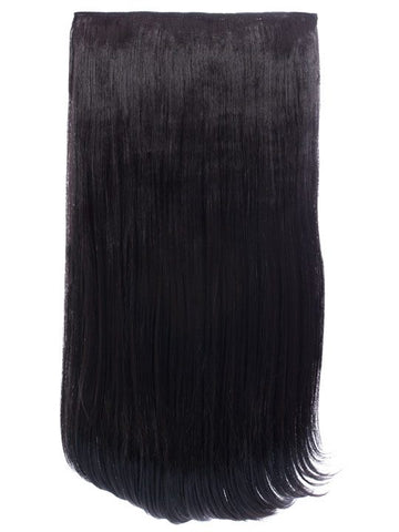 Envy 3 Weft Straight 22″-24″ Hair Extensions in Raven - Pretty Rebel