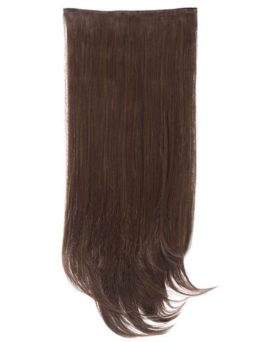 Envy 3 Weft Straight 22″-24″ Hair Extensions in Warm Brunette
