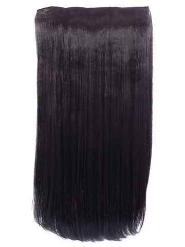 Envy 3 Weft Straight 22″-24″ Hair Extensions in Dark Brown, Prettyrebel.com