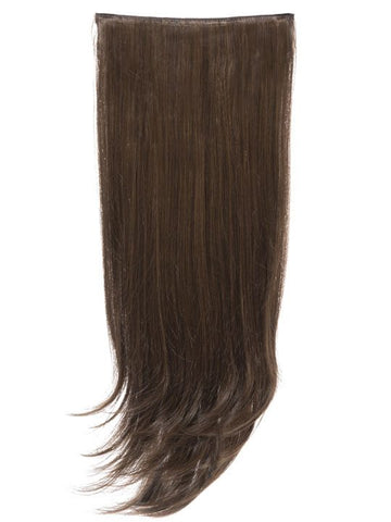 Envy 3 Weft Straight 22″-24″ Hair Extensions in Dark Brown and Caramel - Pretty Rebel