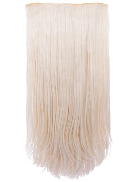 Envy 3 Weft Straight 22″-24″ Hair Extensions in Bleach Blonde, Prettyrebel.com