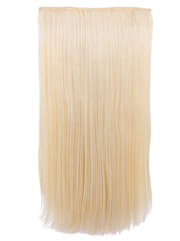 Envy 3 Weft Straight 22″-24″ Hair Extensions in Pure Blonde, Prettyrebel.com