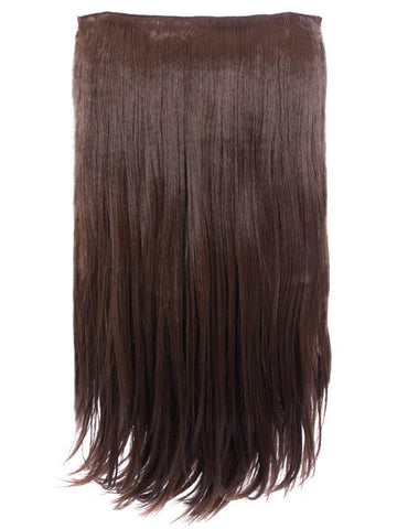 Envy 3 Weft Straight 22″-24″ Hair Extensions in Chestnut Brown, Prettyrebel.com