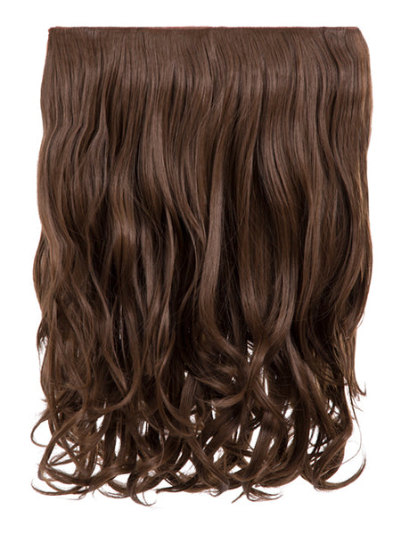 Rosie 1 Weft 16″ Curly Hair Extensions In Ash Brown