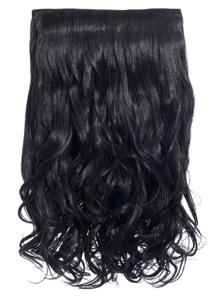 Selena 1 Weft Curly 20″ Hair Extensions In Natural Black - Pretty Rebel