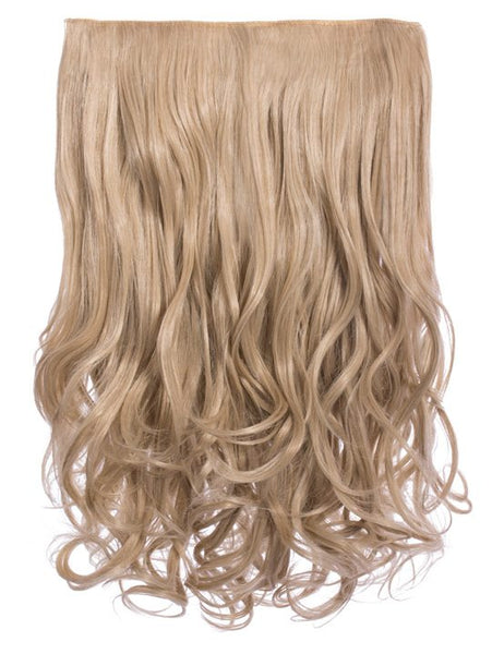 Selena 1 Weft Curly 20″ Hair Extensions In California Blonde