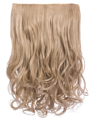 Selena 1 Weft Curly 20″ Hair Extensions In California Blonde - Pretty Rebel