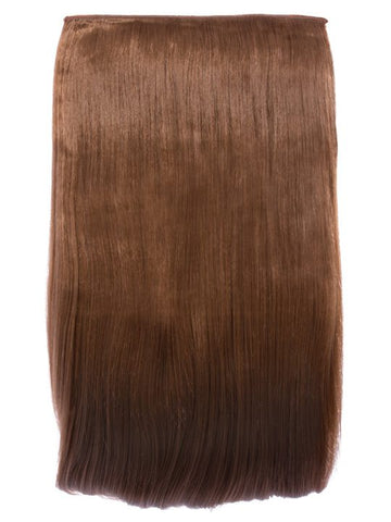 Lorna 1 Weft Straight 24″ Hair Extensions In Golden Brown