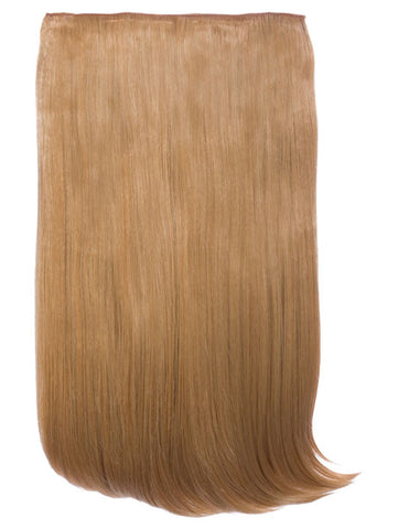 Lorna 1 Weft Straight 24″ Hair Extensions In Caramel Blonde