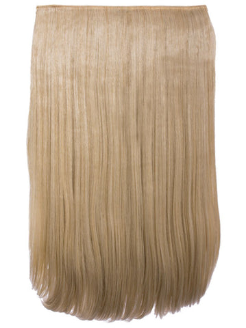 Lorna 1 Weft Straight 24″ Hair Extensions In Light Golden Blonde