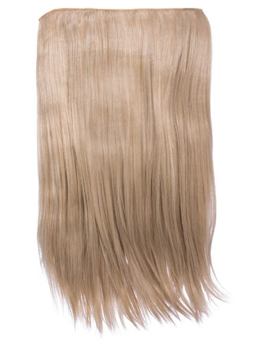 "Lorna 1 Weft Straight 24"" Hair Extensions In California Blonde"