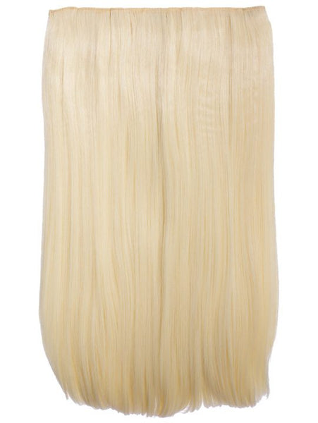 "Lorna 1 Weft Straight 24"" Hair Extensions In Pure Blonde"