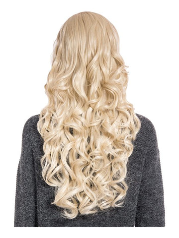 Olivia Curly Full Head Wig in Light Golden Blonde - Pretty Rebel