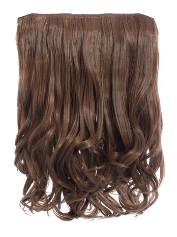 Rosie 1 Weft 16″ Curly Hair Extensions In Golden Brown - Pretty Rebel